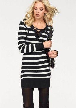 Úpletové šaty, Melrose #avendro #avendrocz #avendro_cz #fashion #dress