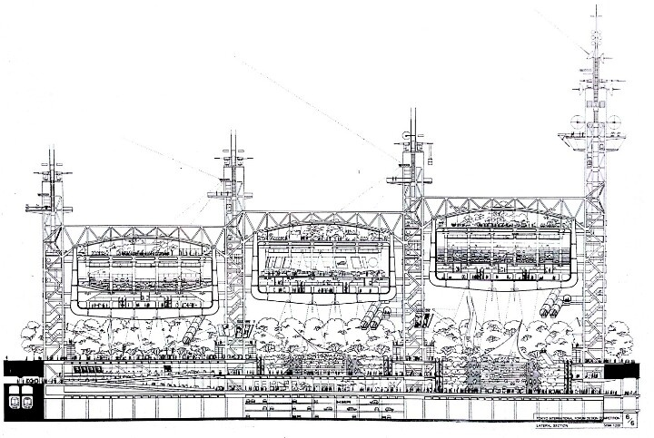 Richard Rogers - Tokyo Forum proposal | CITYSCRAPING ...
