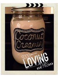 Paleo Coffee Creamer - uses dates instead of Honey or Maple Syrup
