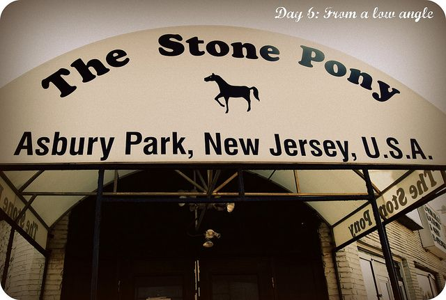 30 Day photo challenge Day 6: From a low angle    The world famous Stone Pony/Asbury Park NJ #new jersey #asbury park #the stone pony #jersey shore # nj