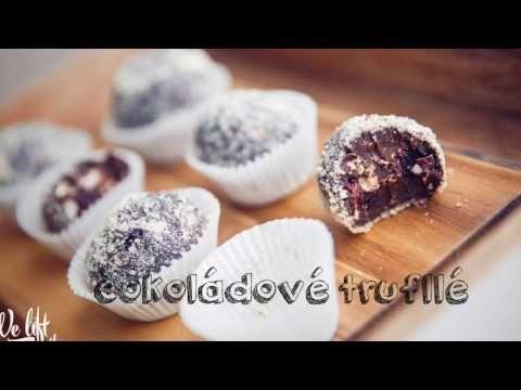 Proteinové čokoládové trufflé bez múky, bez cukru   We Lift Together