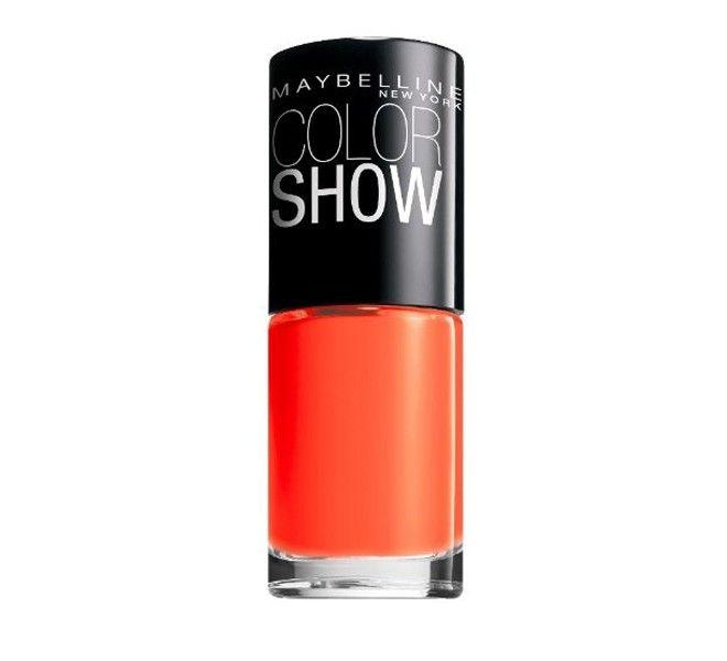 Maybelline ColourShow Nail Varnish - Orange Fix, Only £1 at www.poundshop.com