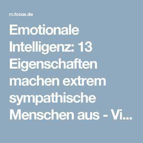 Emotionale Intelligenz: 13 Eigenschaften machen extrem sympathische Menschen aus - Videos - FOCUS Online