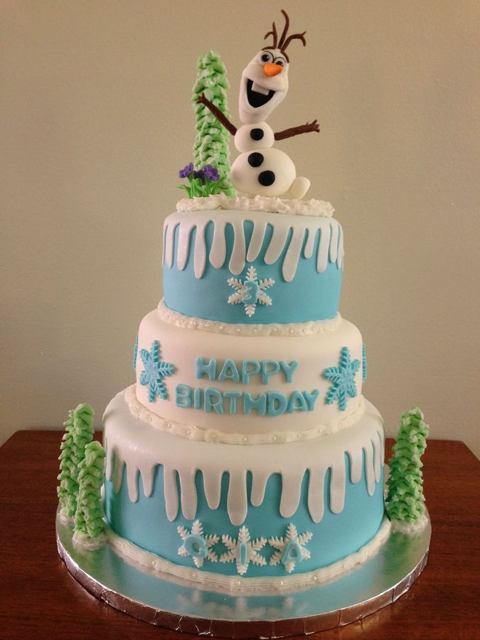 Disney Frozen Themed Cake Cakes and Cupcakes for Kids ...