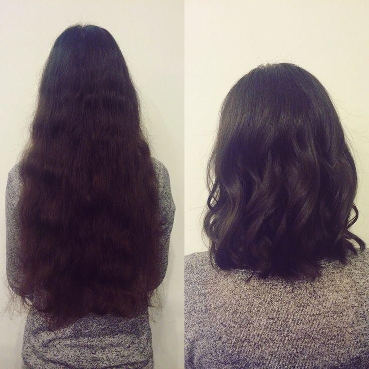 Néha kell a változás ✂️ #haircut #shorthair #byme