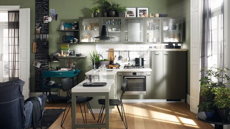 Cucina Diesel Social Kitchen Scavolini small room solution
