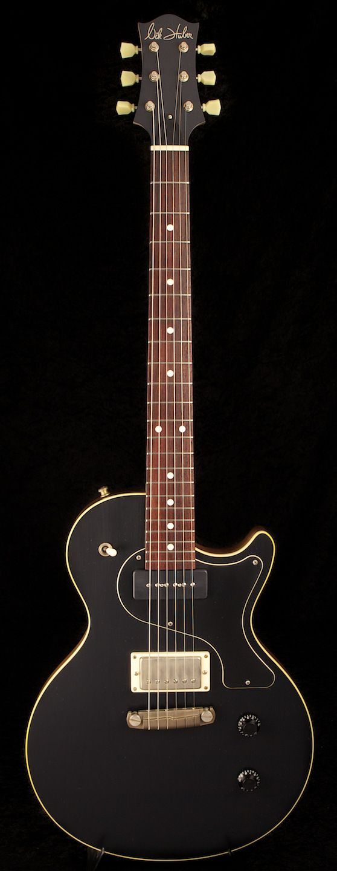 Nik Huber Krautster II Onyx Black   World Guitars