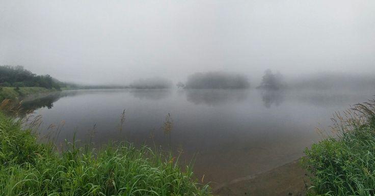 Les petites iles sur la riviere saint françois  à brompton