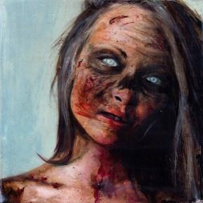 Zombie girl ... kind of disturbing