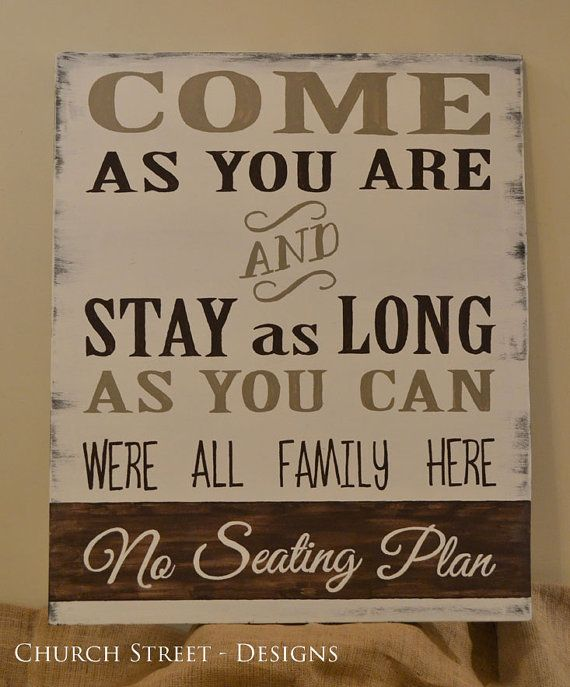 Wedding Seating Chart Sign - Customize the colors - Hand Painted Sign by Church Street Designs