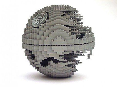 they were so close: Nathan Sawaya, Death Stars, Lego Artists, Lego Sculpture, Stars War, Lego Creations, Deathstar Pretty, Lego Deathstar, Starwars
