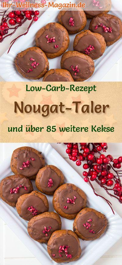 Glasur Weihnachtsplätzchen.Low Carb Nougat Taler Einfaches Plätzchen Rezept Für