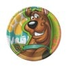 Scooby Doo Dinner Plates (8/pkg)