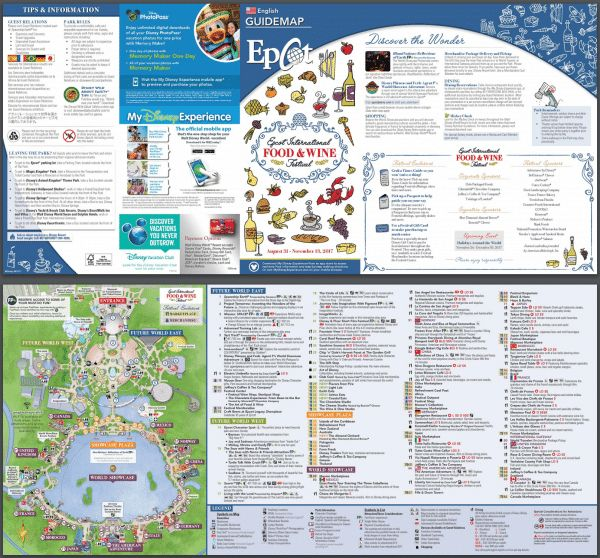 An overview of Epcot's Food and Wine Festival