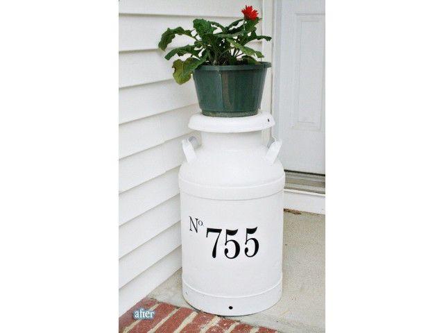 Negossito - 20 réutilisations originales de vieux bidons de lait