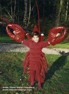 Lobster Costume by Diane Chaudiere