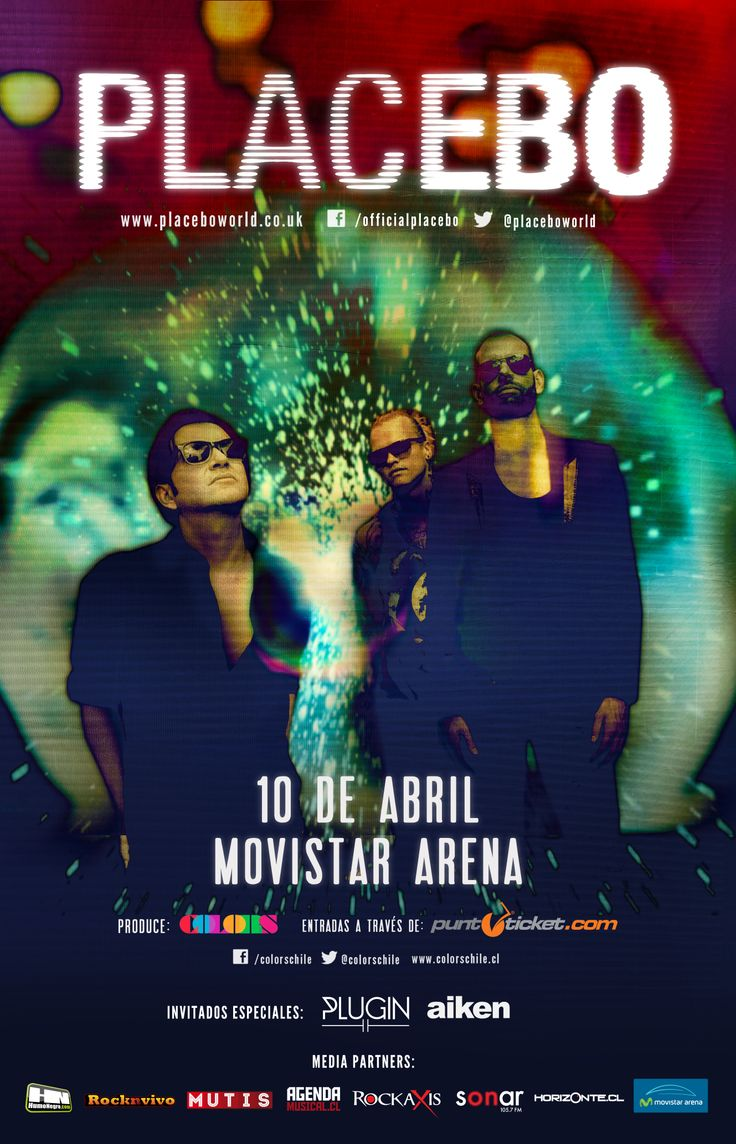 Placebo - 10 de abril - Movistar Arena