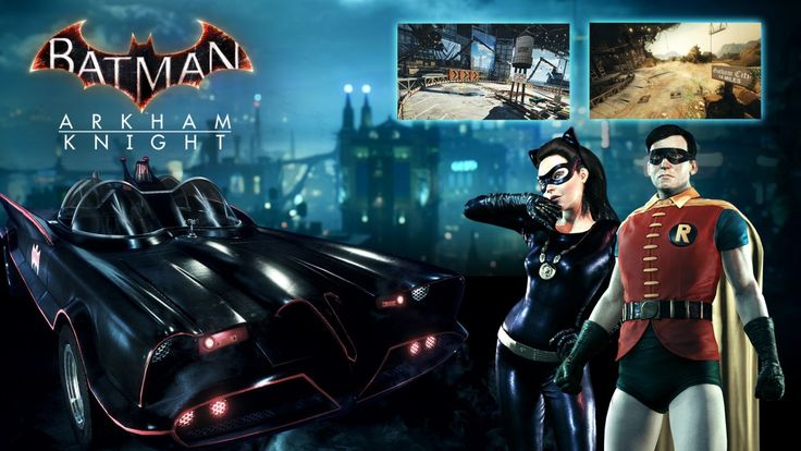 New DLC content will be released for Batman: Arkham Knight in October, and one of the offerings is a story pack featuring Catwoman. Description from geimin.co.uk. I searched for this on bing.com/images