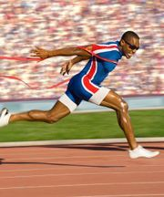 A number of sprint training schedules for 100m, 200m and 400m. They are aimed at differing levels of ability, ages and time available for training.