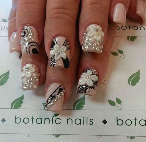 182 best wedding nail art designs images on pinterest nail arts 182 best wedding nail art designs images on pinterest nail arts nail designs and artificial nails prinsesfo Gallery