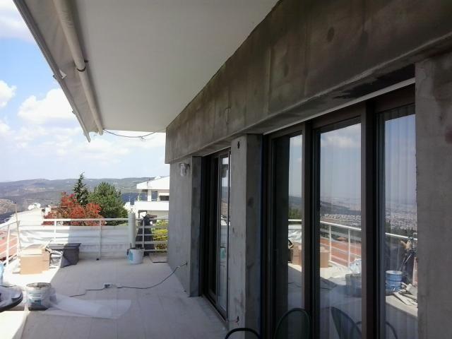 Θερμοπρόσοψη με το σύστημα Thermomaster σε σπίτι στο Πανόραμα Θεσσαλονίκης