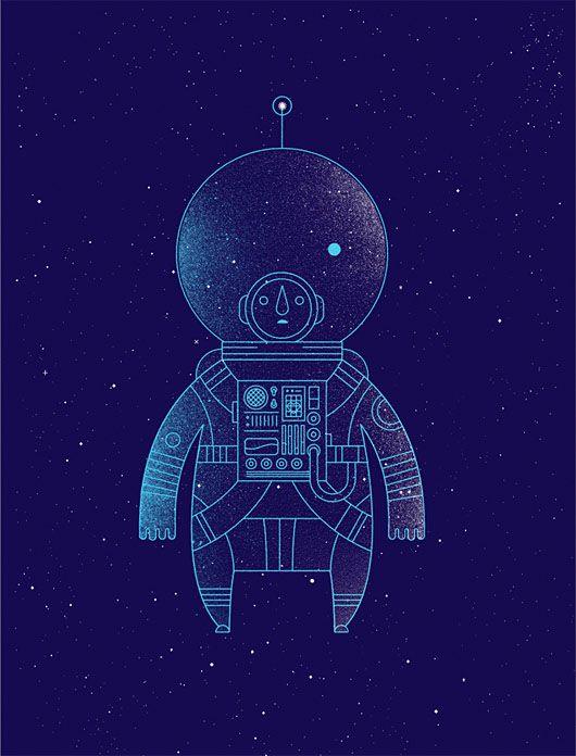 Visual Graphic - Astronaut