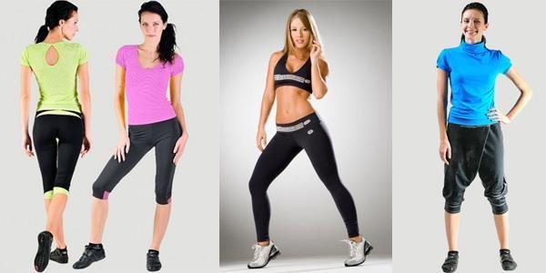 Купить женские оригинальные брюки для фитнеса