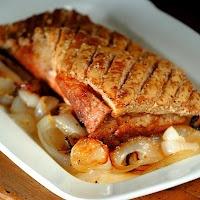 Jamie Oliver's Crispy Skin Pork Belly: Crispy Skin, Eating Food Soooo, Pork Belly, Cooking Food Shoots, Food Blog, Jamie Olives, Skin Pork, Jules Food, Olives Crispy