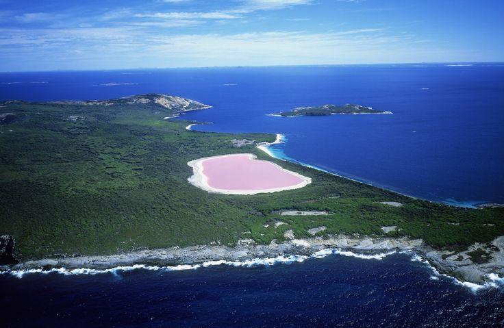 Pink Lake - ELLEDecor.com
