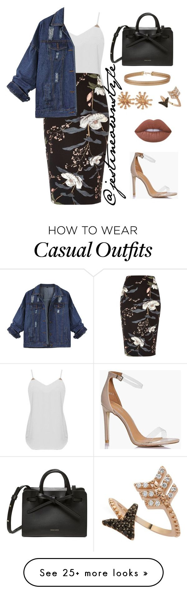 """Casual "" by jestineownstyle on Polyvore featuring Boohoo, River Island, Miss Selfridge, Bee Goddess, Christian Lacroix and Lime Crime"