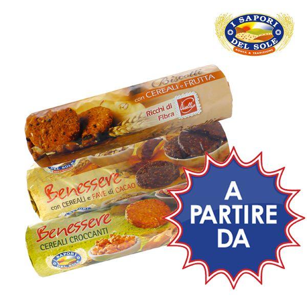 Biscotti dal gusto genuino deliziosi per la prima colazione. A partire da € 1.09