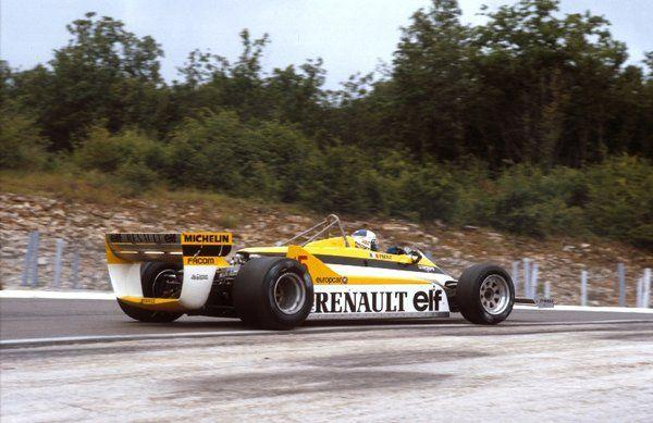Alain Prost, ELF Renault RE30