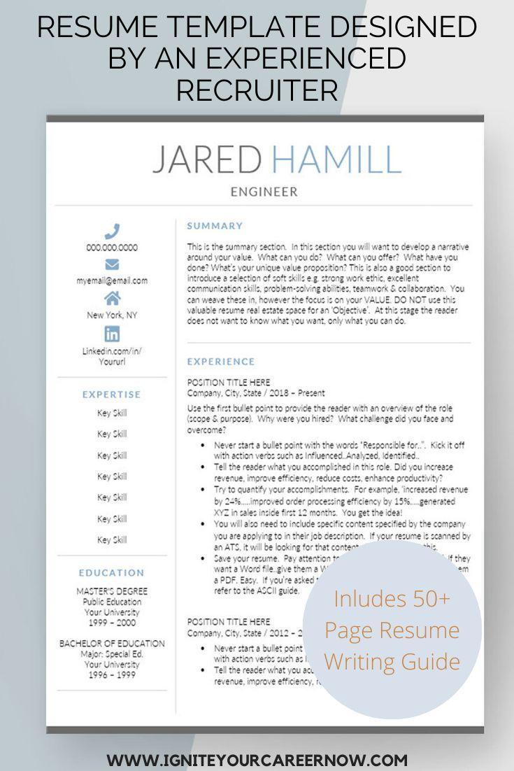 resume templates from an awardwinning resume writer