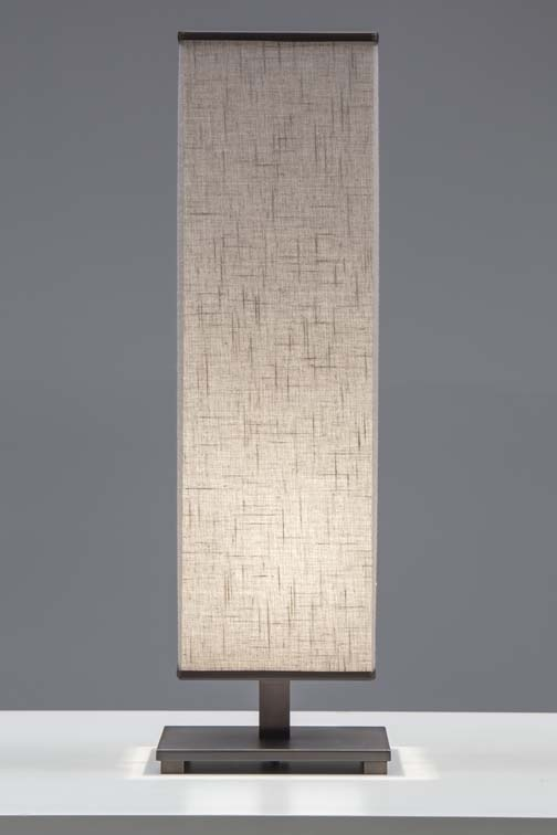 Nice Sybil Vertical Table Lamp Burnished