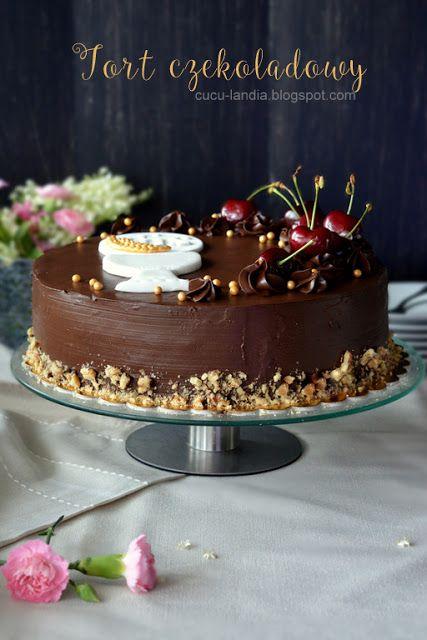 Cuculandia: KOMUNIJNY TORT CZEKOLADOWY