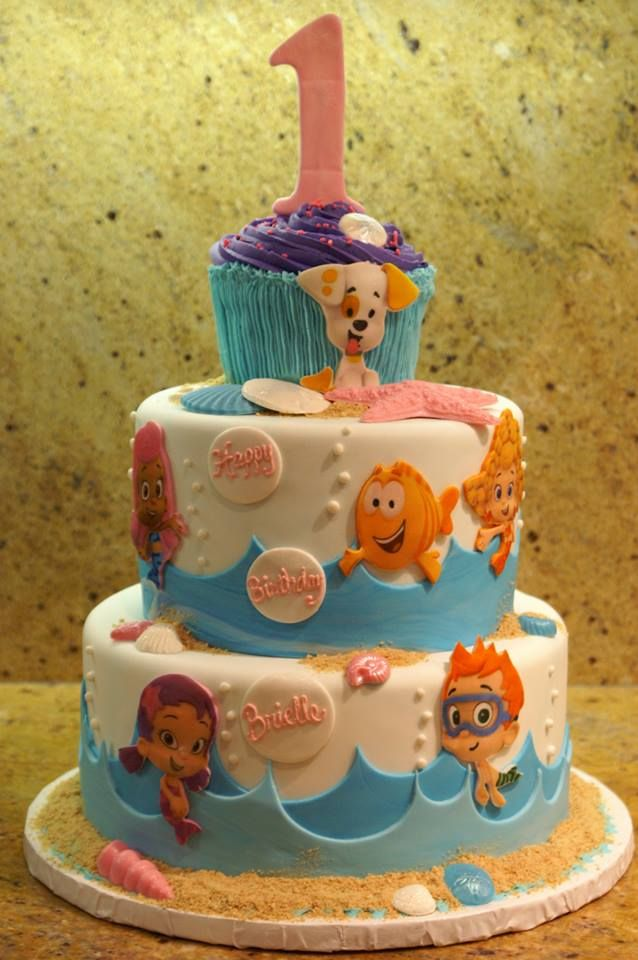 Bubble Guppies Cake Theme Bubble Guppies Birthday Party