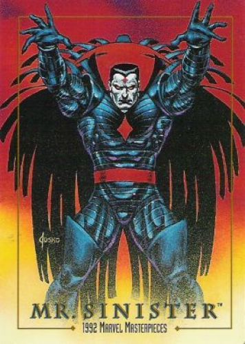 Marvel Masterpieces Series 1 1992 [Marvel- Skybox] Card Set, Issue #0058a.