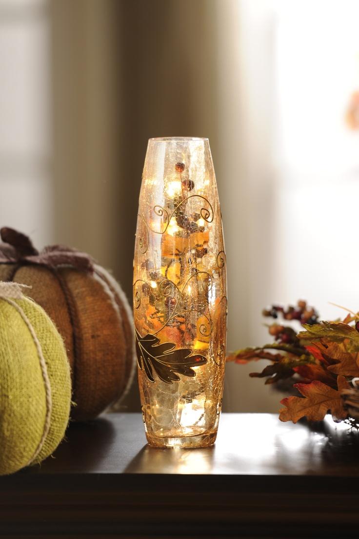 41 best crackle glass images on pinterest crackle glass blown pre lit amber crackle glass hurricane reviewsmspy