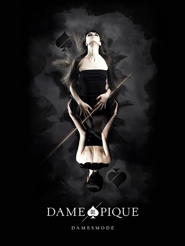 Dame de pique - branding - by skinn