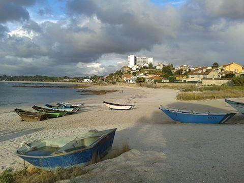 Praia das Barcas, Vigo. (Pontevedra). Galicia. Spain..