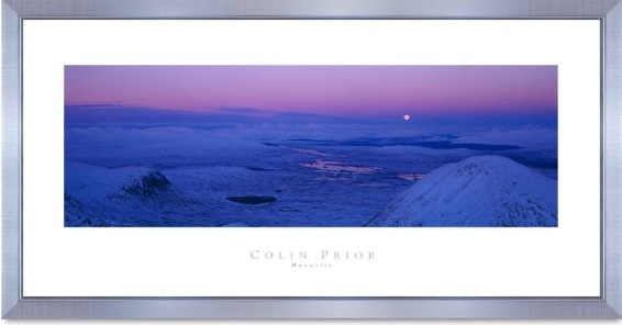 Moonrise print by Colin prior