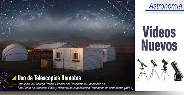 ¡Te gusta la Astronomía! Quieres aprender sobre el uso de telescopios remotos. Visítanos http://akademeia.ufm.edu/home/?curso=el-planeta-venus Te presentamos 3 videos impartidos por Joaquín Fábrega Polleri, Director del Observatorio Panameño en San Pedro de Atacama, Chile y miembro de la Asociación Panameña de Astronomía (APAA). #Astronomía #Telescopios #Guatemala #Panama #Chile