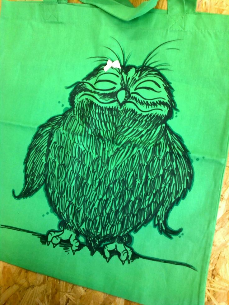 Bag with Owl