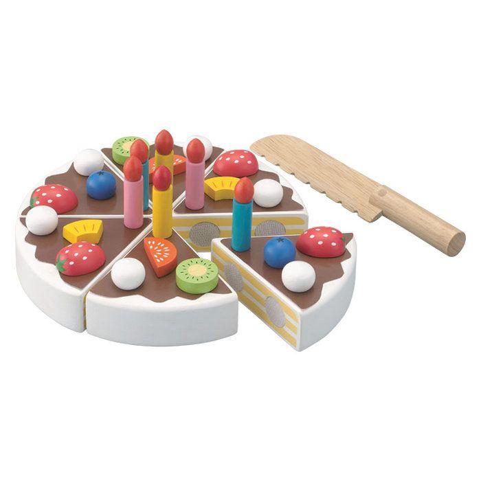 エドインター職人さんごっこたのしいケーキ職人【Ed・Interエド・インターままごとごっこ遊びケーキ木のおもちゃ3歳木製木育かわいい知育玩具ベビー赤ちゃん子供キッズ男の子女の子誕生日出産祝いプレゼント】
