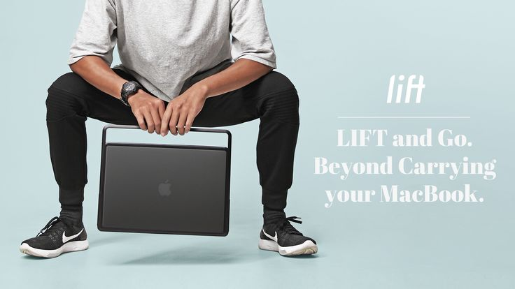 LIFT is not a stand, not a case, nor a bag. It offers a new way of using your MacBook. Stylish and designed for your life on the move.