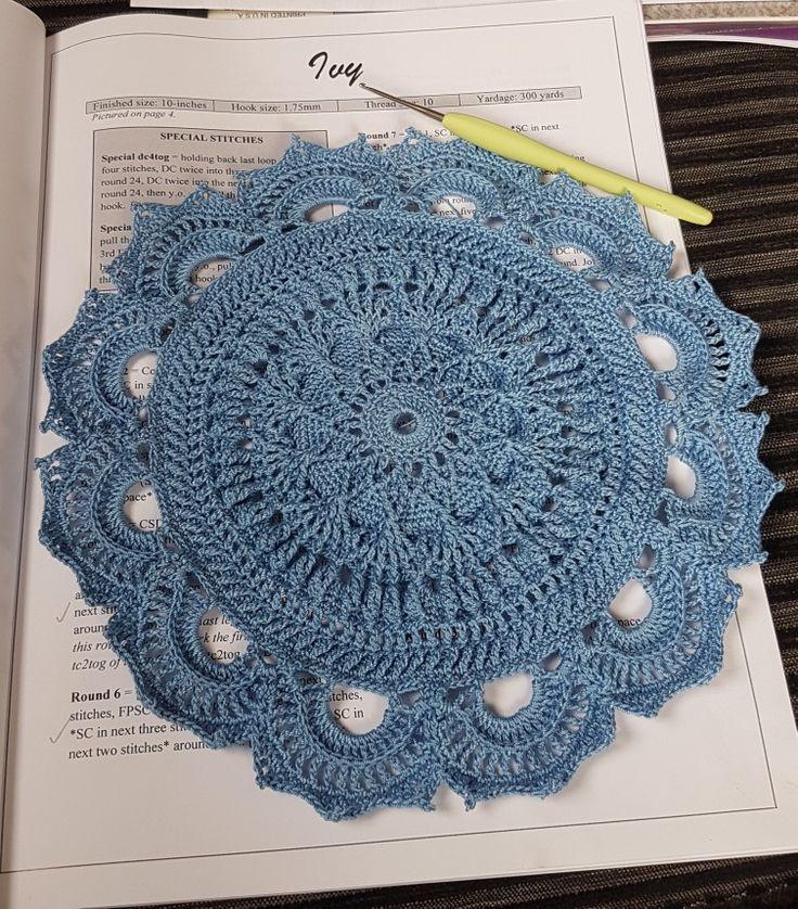 #EmilyandtheHandmade #doily , cotton 10, hook size 1.5mm