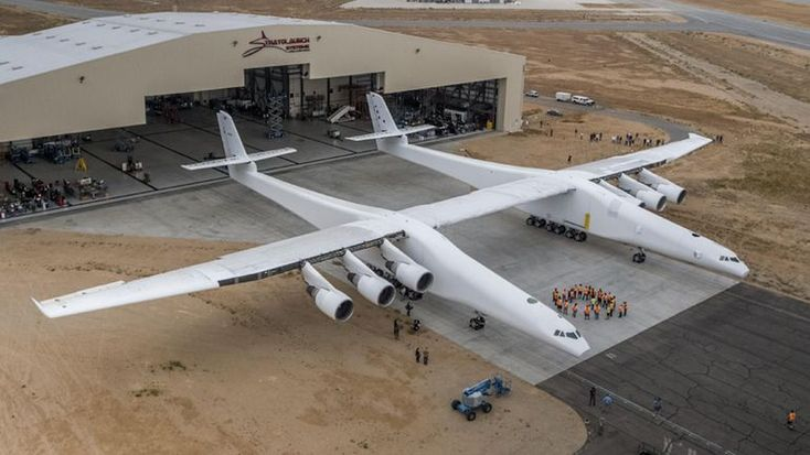 With a max takeoff weight of 1.3 million pounds (650 tons), the Stratolaunch needs a lot of support from its 28 wheels.There are 12 main landing-gear wheels and... - Page 10