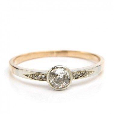 Pierścionek, Nr. ID 3444 złoto, diament - Desa Biżuteria