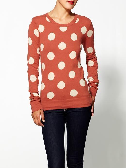 Polka Dot PulloverClothing Polka, Fashion Shoes, Polka Dots, Style, Thml Clothing, Dots Sweaters, Polkadot, Dots Pullover, Dreams Closets