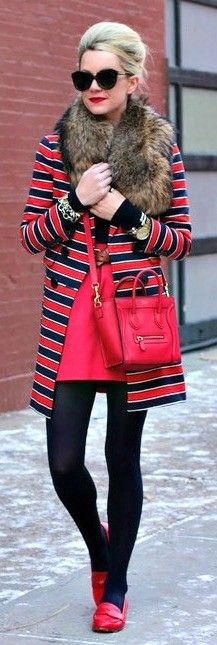 ♥ na  ... sometimes you just want to wear colour !